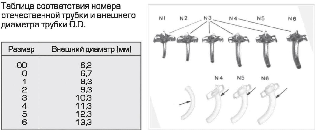 Линейка для определения диаметра трахеостомической трубки фото