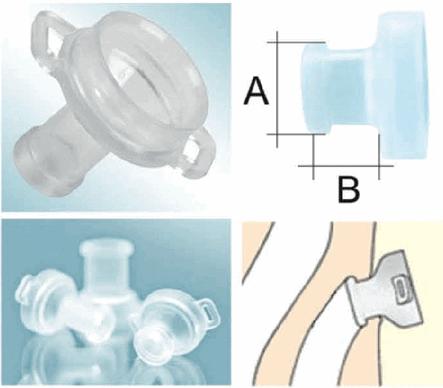 трахеостомическая канюля или кнопка фото